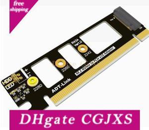 Orijinal Yüksek Kaliteli PCIe 3 0,0 M 0,2 Nvme M -Key PCI -E X4 için X16 Adp Adt -Link Pcie3 .0x4 32g / Bps için Running Adaptör Kart istikrarlı Genişletilmiş