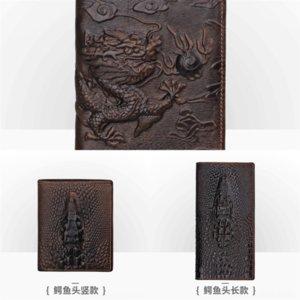 XVc7 Red wallet leather wallet German brand designer ultra-thin top card leather leather credit for 6 wallet card holder pocket holder