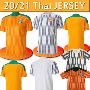 Cote D Ivoire National Team Soccer Jersyys Coast Avorio Drogba Kessie Zaha Cornet Uomo Homme Maillot deley Foot Football Man Uniformi 2020 2021