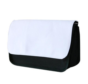 10pcs Sublimation Women DIY Blank Plain Cosmetic Bag zipper travel makeup bag phone clutch bag Size11.5*21cm