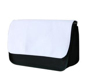 10pcs Sublimation Women DIY Blank Plain Cosmetic Bag zipper travel makeup bag phone clutch bag Size11.5*21cm