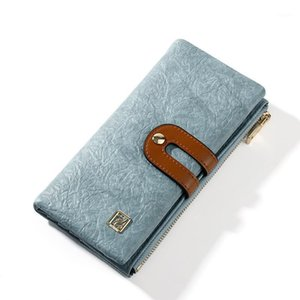 LISM New Wallet Women's Long Casual Fashion Multifunction Mobile Wallet Multi Card Holder Large Capacity Women Clutch1