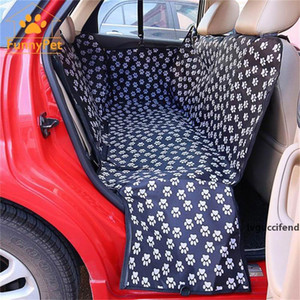 Outdoor Pet Dog Car Seat Rear Back Carrier Bag Pad Waterproof Protection Basket Portable Blanket Cover Pad Hammock Protector T200330
