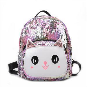 2019 New 3D Sequin kids bag holographic backpack for children laser school bags backpack for boy bags girls mochila escolar