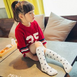 Boys Girls Wicking Deodorant Stocking Childs Cartoon Print Child's Breathable Moisture Elastic Athletic stocking xAGs#