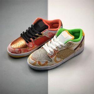 CNY Sneaker Street Hawker Low Jason El año de Ox Skateboard Shoes ISB Owcny Mujeres Shoes Metallic CNY Shoes Skate Board