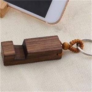 مستطيل مفتاح خشبي حلقة الهواتف المحمولة الأقواس حامل مفاتيح حامل الهاتف المحمول الخشب الحلي للأطفال اللعب 2 8SM H1