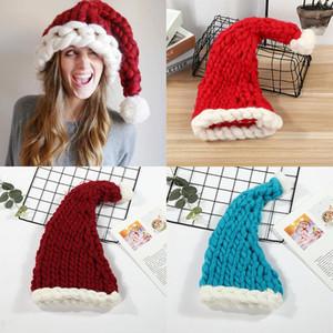 Dhl 2020 3styles الصوف متماسكة القبعات عيد قبعة أزياء المنزل الحزب في الخريف الشتاء الدافئة قبعة عيد الميلاد هدية حزب الإحسان داخلي ديكور شجرة الديكور