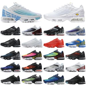 2020 nike Air Max Airmax TN plus 3 vapormax vapor 2019 Männer Frauen Laufschuhe Triple White Black Iridescent Herren Damen Trainer Sport Turnschuhe Läufer
