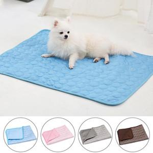 الصيف الكلب حصيرة التبريد وسادة حصيرة للكلاب القط بطانية أريكة تنفس كلب السرير الصيف قابل للغسل لجرو صغير