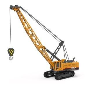 Crane Toy Construction автомобиль 1:50 Diecast Инженерные игрушки Tys Tractor Tractor High Simulation Boys Machine Model Toys для детей Y200109