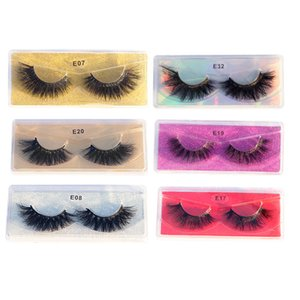 Fluffy 7-20MM Eyelashes Wholesale 5D Mink Lashes Natural False Eye lashes soft Set faux cils Bulk Makeup False lashes in bulk makeup
