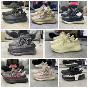 2020 Novo Hot 3m Reflexivo Boost Running Shoes V2 Israfil Cinder Desert Yecheil Tail Light Zebra Boost350.Sapatos mulheres homens sapatilhas