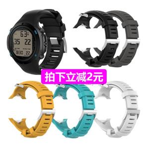 Подходит для Sunto Songtuo D6 / D6i Novo смарт с силиконом и рыхлых аксессуары часы ремешок