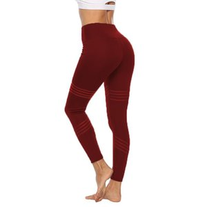 Sexcer High Waist Yoga Leggings Tights Women Workout Dot Breathable Fitness Clothing Female Stretchy Training Pants Gigh Quality