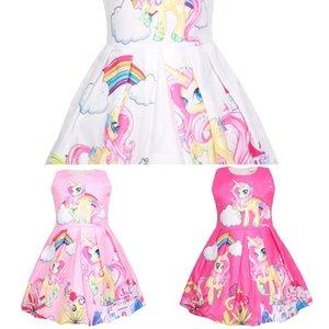 vestido de la princesa Qun de 2019girl pinzas verano vestido de la princesa de los niños de la falda de los niños delgados 50158 XThtY