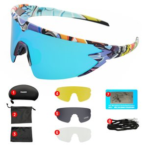 Red Goggles Polarized Cycling Sunglasses Men women Sport Road Mtb Mountain Bike Glasses Eyewear Sun oculos ciclismo