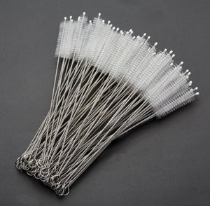 200*50*10mm Stainless Steel Wire Straw Cleaner Cleaning Brush Straws Cleaning Brush Bottle Brush 500pcs free ship