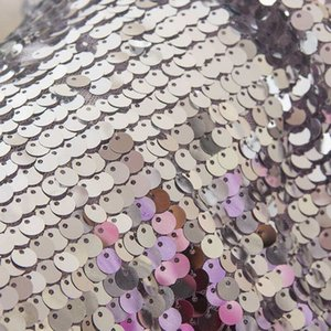 We have large,medium and small sequins.Sequin embroidery-exquisite workmanship,elegant taste,novel design,dazzling,with special natural