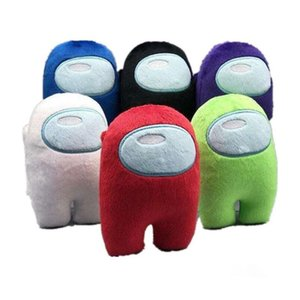 Hot Selling 10CM Soft Plush Among Us Game Toy Kawaii Stuffed Doll Christmas Gift Cute Small Plush Toy