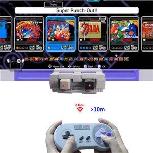 2.4G контроллер для Nintendo Snes Классический Mini Android Беспроводной USB игровой контроллер с розничной коробкой