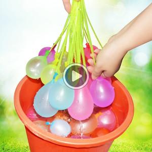 9UWW divertido Agua Globos Magic Beach Juguetes del partido del verano al aire libre Llenado bombas globo de agua de juguete para los niños Niños Adultos