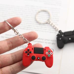 PVC Cartoon Game Controller Keyring Cute Gamepad Boyfriend Joystick Key Chain Men Boy Bag Pendant Gift Keychain