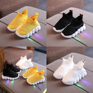 Dimensioni PTU0 Scarpe per bambini Led per ragazzi Girlharger LBJ 15 Schoenen Shoe Child Kids Chaussure Enfant luminoso sneaker luminoso luminoso con