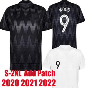 2020 2021 Yeni Ulusal Takım Futbol Forması 2022 Uzakta Siyah Zelanda Singh Christopher Ahşap Marco Rojas Thomas Reid Erkekler Futbol Gömlek Tayland 2XL