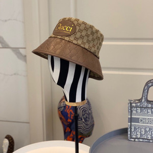 2020 новый стиль мужские и женские шляпы люкс рыбак шляпа модельером письмо открытый шлем G006 бесплатная доставка