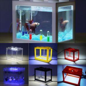 HKCO1 Çanta Akvaryum Işık Glow Karanlık Lamba Mermerler Aydınlık Balık Kurşun Aqrium Işık Balık Tankı Dekoratif Tank Taş Renk Bahçe Peyzaj