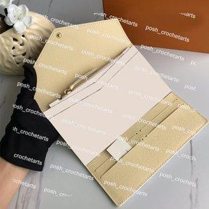Damen-lange Brieftasche mit Kartensteckplätzen beschichtete Canvas-Brieftasche mit abnehmbarer Reißverschluss