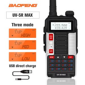 NEW Baofeng UV-5R MAX Walkie Talkie 10W UV5R Max Dual Band Two Way Radio USB Charge Portable Ham CB Radio uv 5r FM Transceiver
