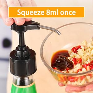 Syrup Bottle bico de pressão de óleo Pulverizador Household molho de ostra plástico da bomba do tipo push ferramentas da cozinha Acessórios Supplies