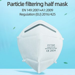 Shipping! Free Fittop FFP2 Mask Adult Anti-Fog Haze and Influenza FFP2 Face Mask CE 2834 in Stock!