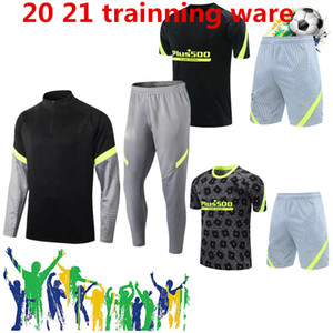 2021 Atletico de Madrid Hommes Entraînement Ware Joao Félix Felipe Morata Felipe Camiseta de football Chemises de football de piste 20 21