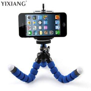 يى شيانغ المحمولة حامل الهاتف كاميرا رقمية مرنة الأخطبوط الساق ترايبود حامل القوس محول جبل Monopod فقاعة للمحمول