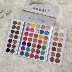 Brand Gorgeous me 63 Colors Eyeshadow Palette Matte and Shimmer Glitter Kyshadow Palette free fast shipping fee