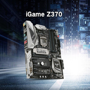 Colorful iGame Vulcan X Z370 LGA 1151 DDR4 SATA 6Gb s Motherboard ATX Motherboard 2 M.2 Front USB3.0 2-Way SLI Pro Gaming1