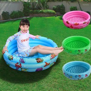 90cm Summer Baby Inflatable Swimming Pool Children Round Basin Bathtub Portable Kids Outdoors Sport Play Toys ball bathing1