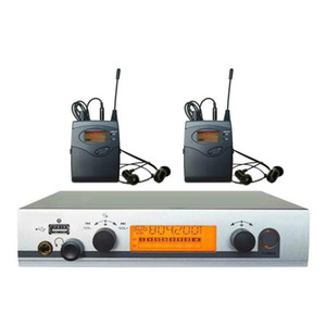 2 Receptores inalámbricos en el sistema de monitoreo de la oreja con USB Personal In-Ear Monitor System Stage Ear Monitors Monitores DJ Equipos 40 Canales