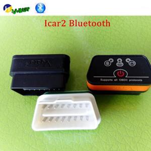 Gesamtverkauf ELM327 Bluetooth VGate ICAR2 Bluetooth OBD2 OBDII Neue Ebene Auto Diagnostic Scanner Tool Unterstützung Android1