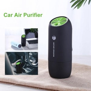 Multiple Function Car Air Purifier Portable Air Humidifier 3 Adjustable Gears Negative Iron Activated Carbon Dual Purification