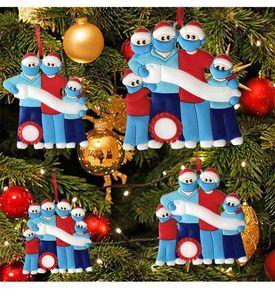 Noel hediyeleri DIY72 saatleri fabrika çıkış fiyatı şanslı reçine maskeleri Kardan Adam Noel ağacı süsler Hızlı teslimat