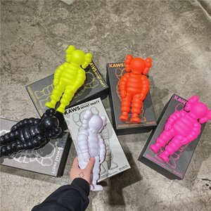 MAND KAWS ÚLTIMO TRAY ORIGINALFAKE 30 CM 0.8KG Boneca Michelin com Caixa Original Ação Boneca Modelo Decoração Presente