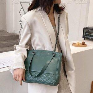 DieHe Kette Art und Weise PU-Leder Umhängetaschen für Frauen Trending Designer Schultertasche Mädchen-Handtaschen der Frauen Umhängetasche