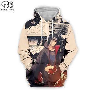 PLstar Cosmos Naruto 3D imprimé Hoodie des femmes des hommes hip hop garçons vêtements pour fille hoodies veste Uchiha Sasuke Plus la taille XS-7XL 201021
