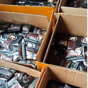 Vape DIY Bobina de algodón Bacon Prime Gold Silver versión etiqueta orgánica Pure Cotton para RDA RBA Atomizadores Vaporizadores E-cigarrillo