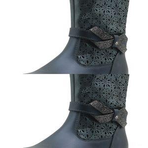 CA5q7 Apakowa printemps et automne printemps girlsmiddle femmes Apakowa et cuir bootsautumn bottes en cuir femmes bottes girlsmiddle