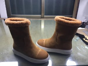 Women High-Quality Boots Snow boots Fur one shoes Casual Shoes Winter fashion Boots keep warm shoes 35-41 bf1020